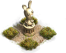 Statuie Raving Rabbid